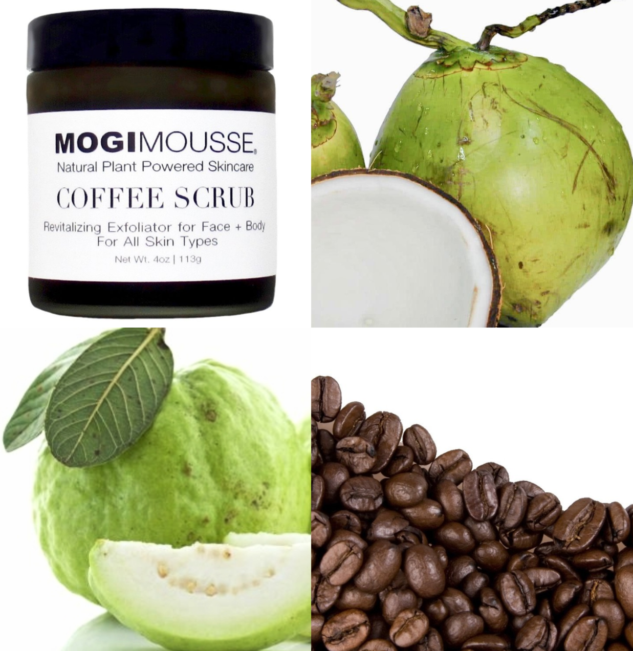 MOGI MOUSSE Coffee Scrub