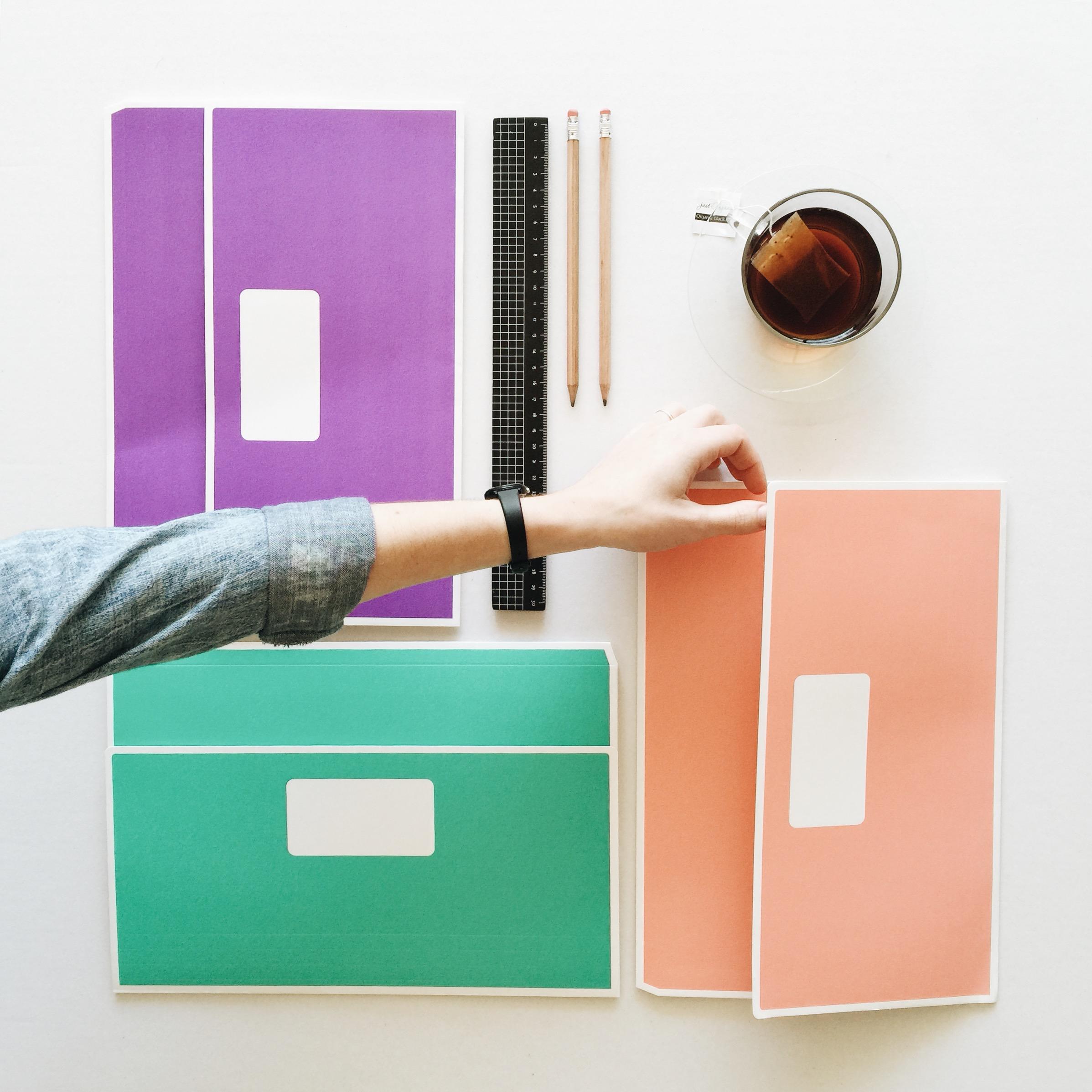 Design Mock Up, Tess Guinery Design