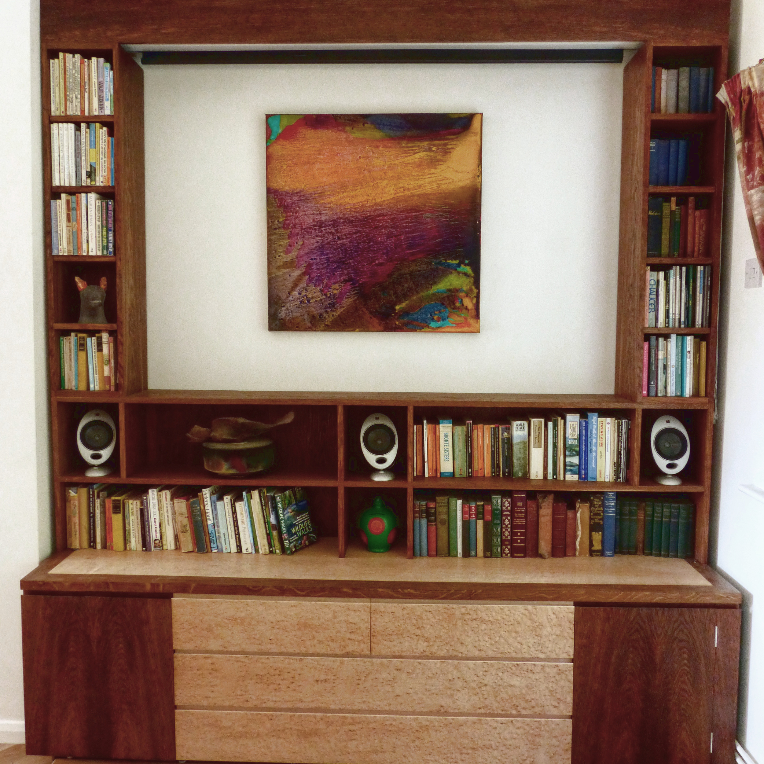The Vatch Projector/Media Cabinet