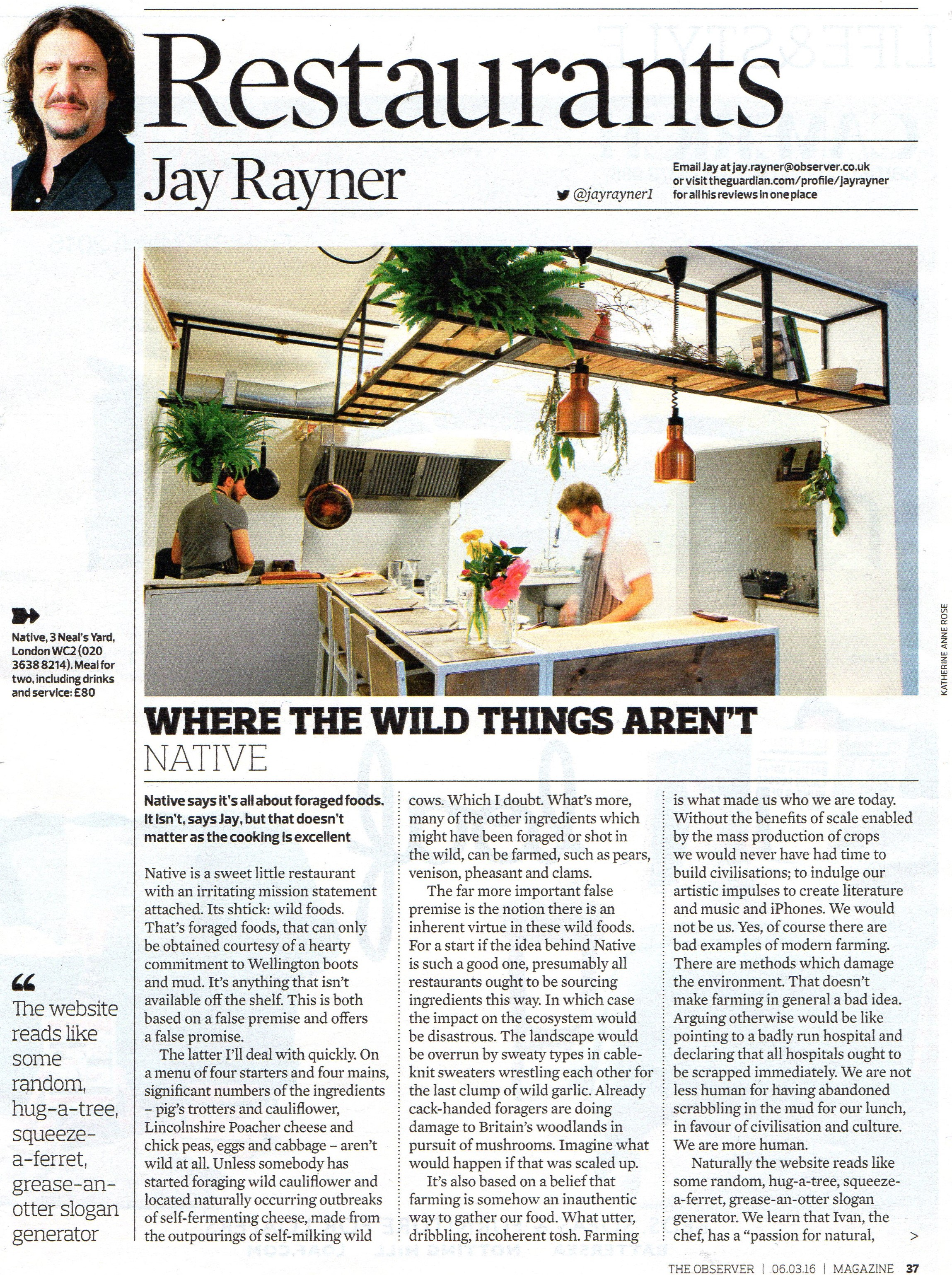 Native in Observer Magazine - Feature (1) - 6 March 2016.jpg