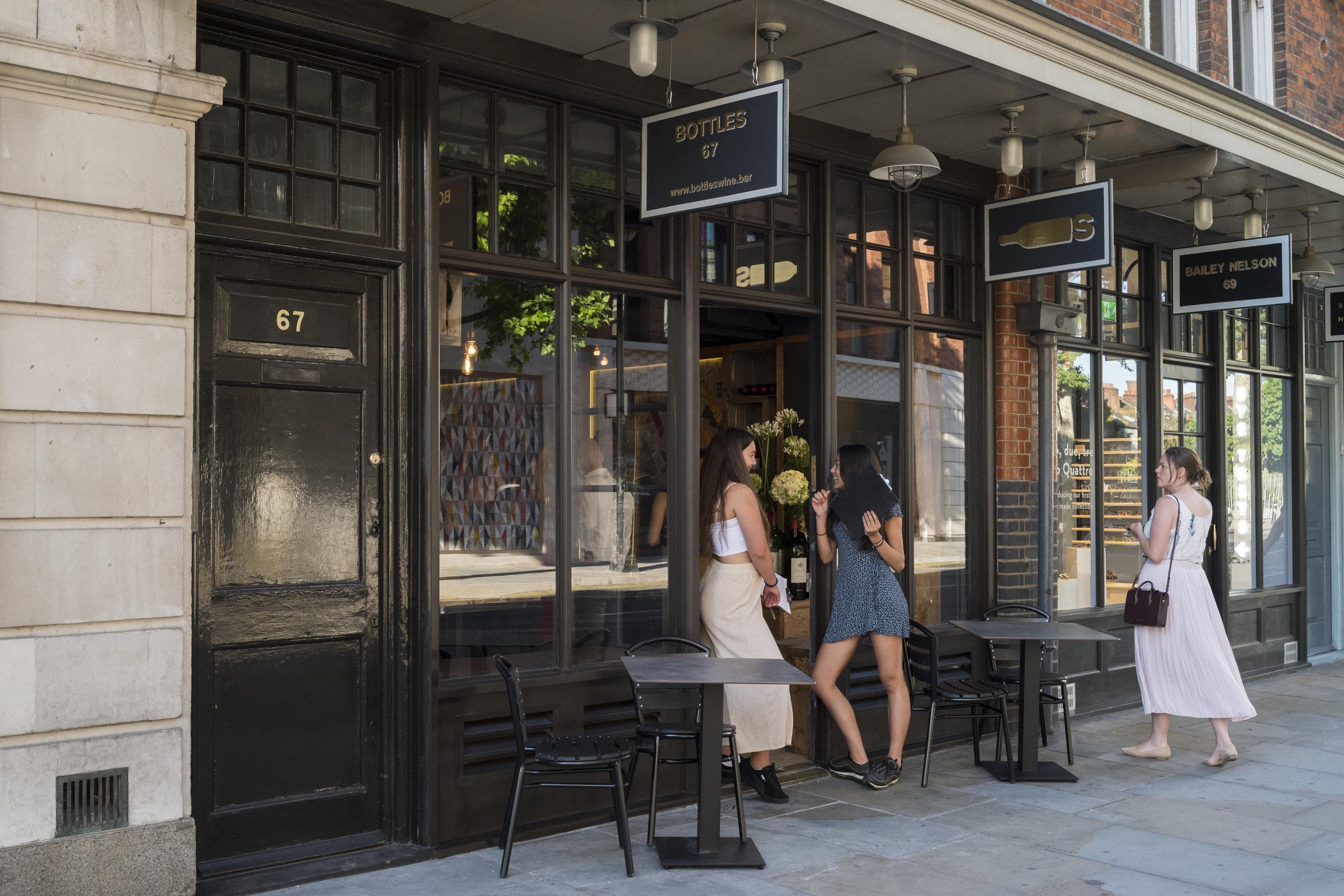 Bottles Wine Bar, Old Spitalfields