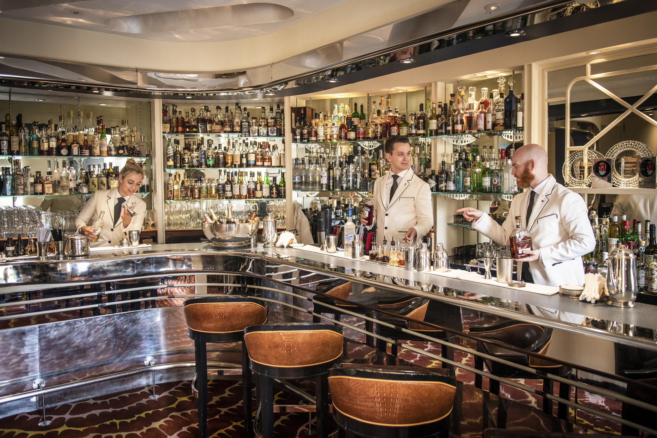 THE SAVOY'S AMERICAN BAR -