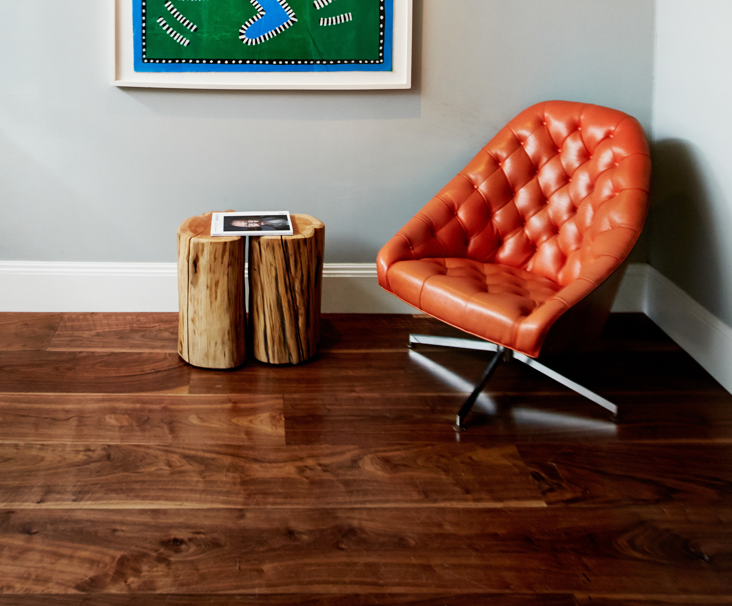 The Broome Street Hotel, New York., featuring The Hudson Company Select Harvest Walnut [Clear Finish] floors.