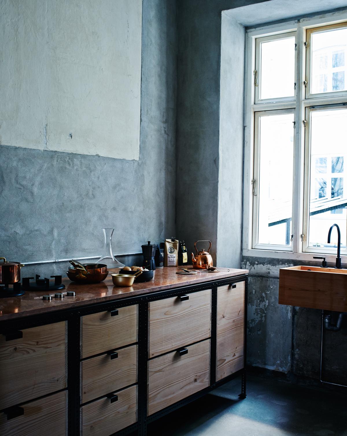 Frama's free-standing kitchen.