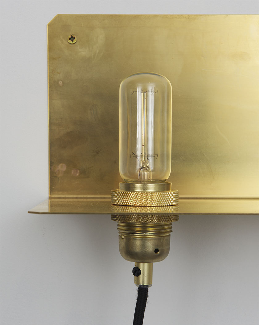 The 90 degree wall light by Frama.
