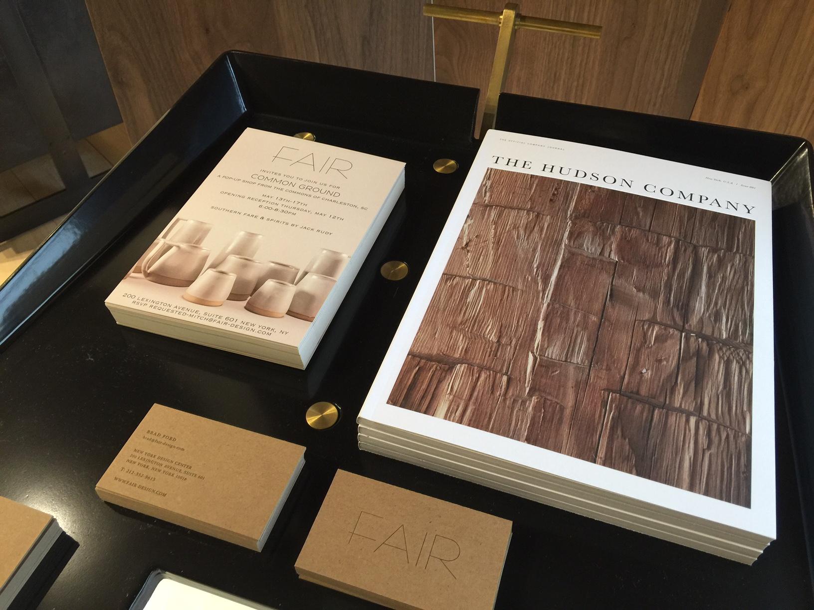 The FAIR exhibit space at Collective Design Fair 2016.