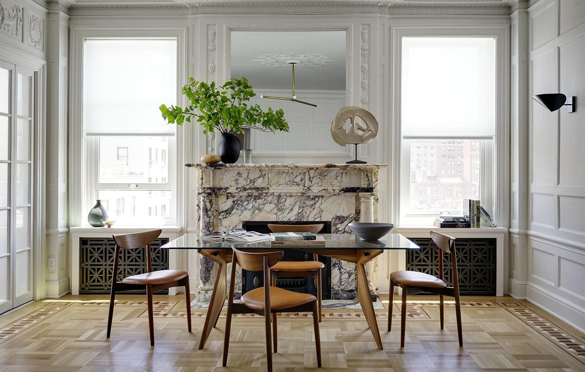 Interior design by Brad Ford.