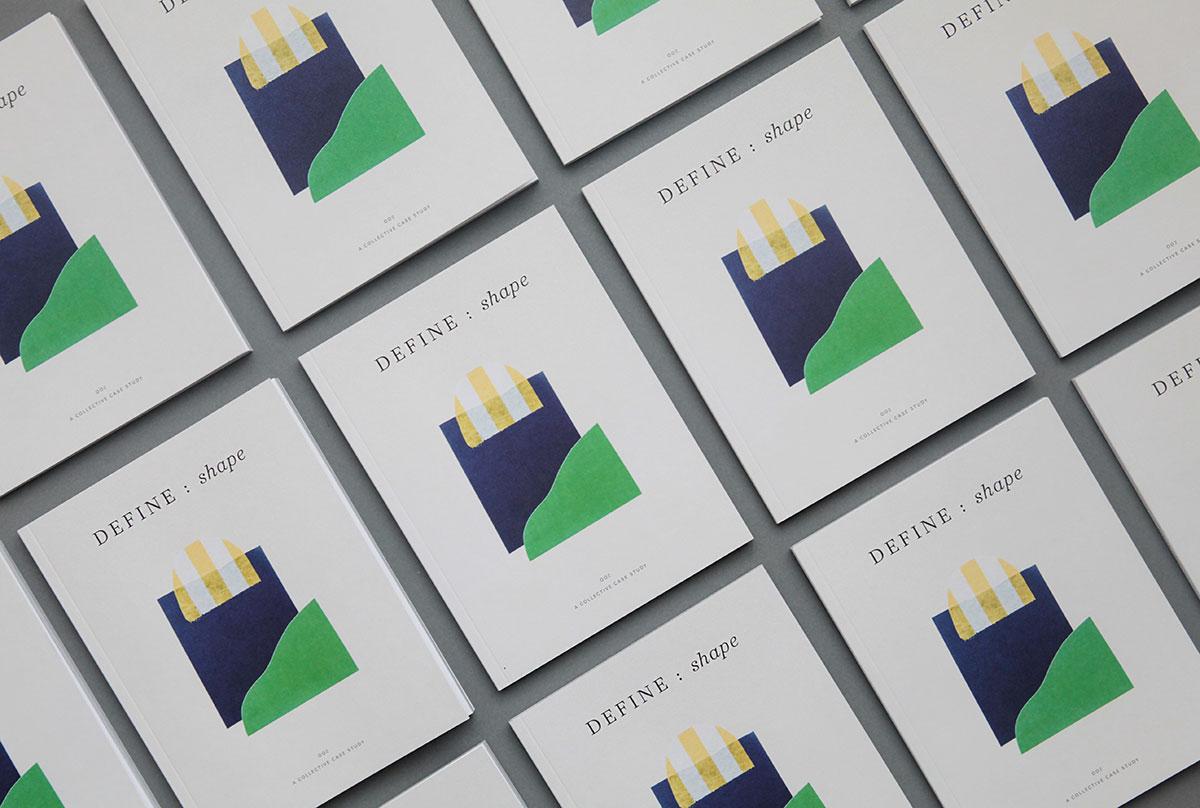 Define Magazine,  founded by designer Amanda Jane Jones