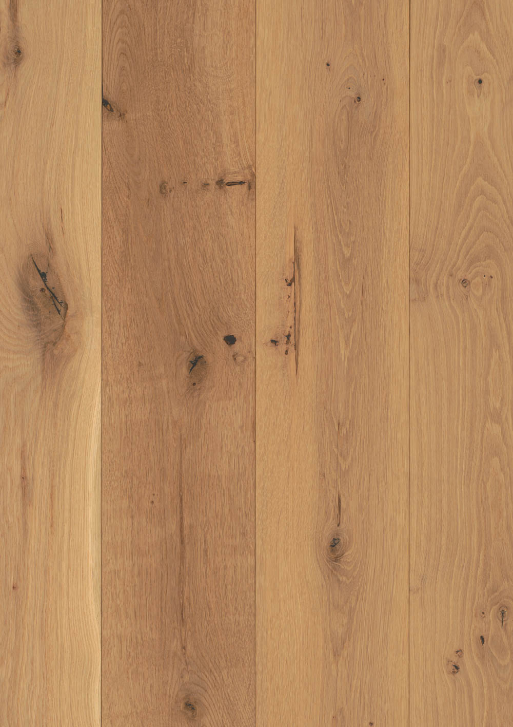 Hudson Company Center Cut White Oak planking in detail.