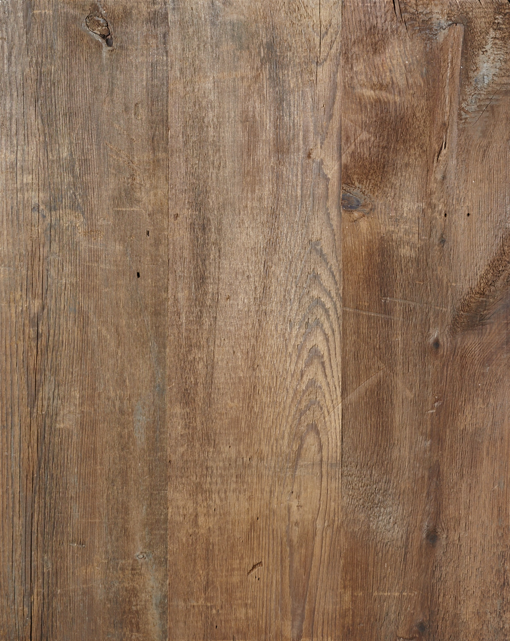 reclaimed mixed softwoods, original face