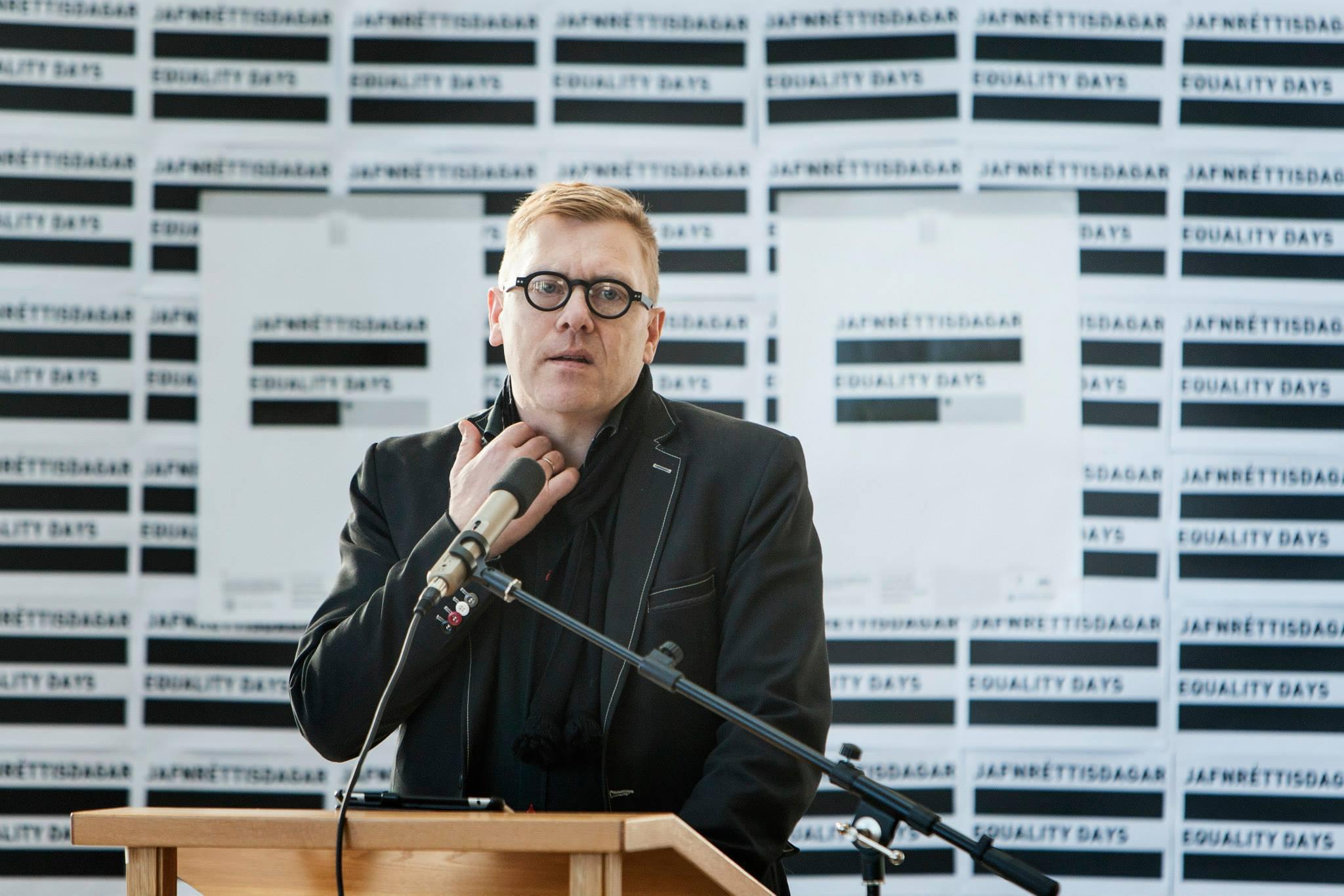 Vaxandi hátíð: Jón Gnarr setti Jafnréttisdaga 2013