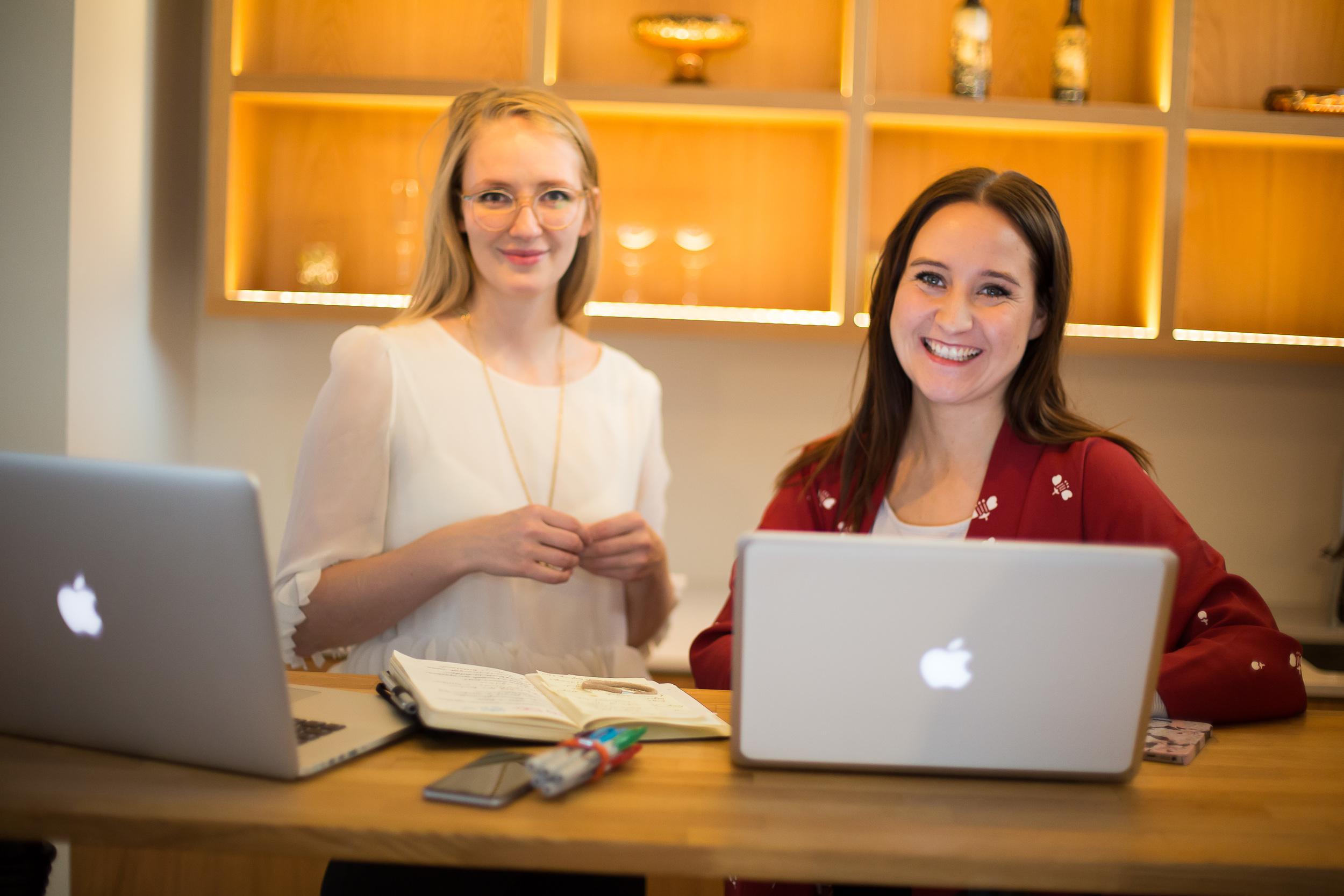 Stofnendur Reconesse Database,Andrea Björk Andrésdóttir og Berglind Sunna Stefánsdóttir