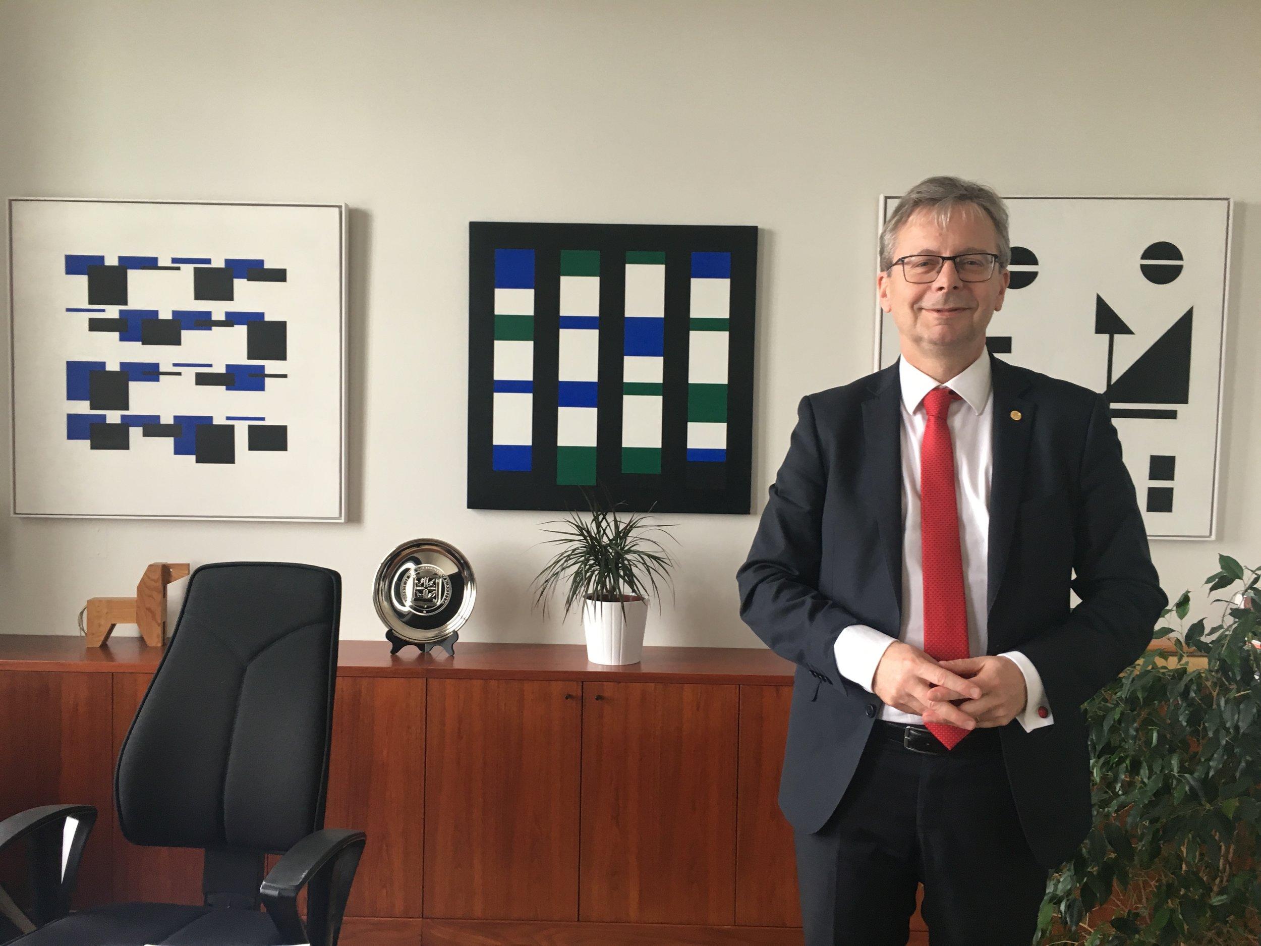 Jón Atli Benediktsson, rektor Háskóla Íslands  Mynd/Stúdentablaðið