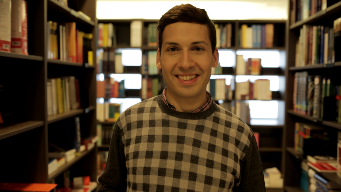 Edoardo Mastantuoni, adjunct lecturer at the Italian Department of the University of Iceland