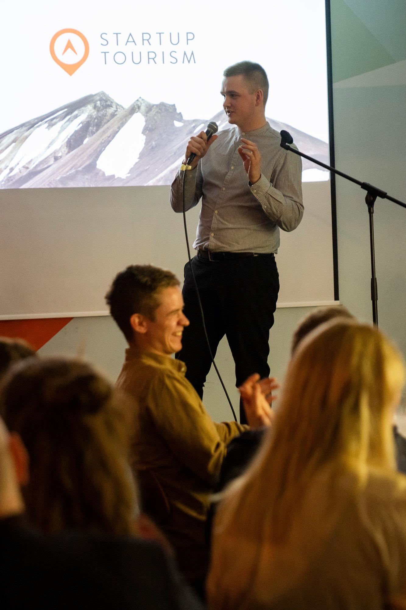 Daníel flytur erindi á Startup Tourism en hann var sjálfur frumkvöðull í ferðaþjónustu á sínum tíma.