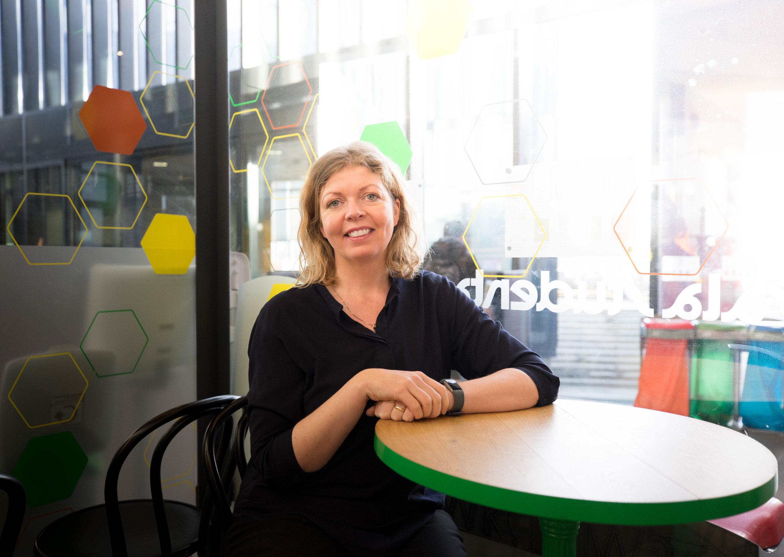 Ína Dögg Eyþórsdóttir, foreign transcript evaluation specialist at UI.  Stúdentablaðið/Eydís María Ólafsdóttir