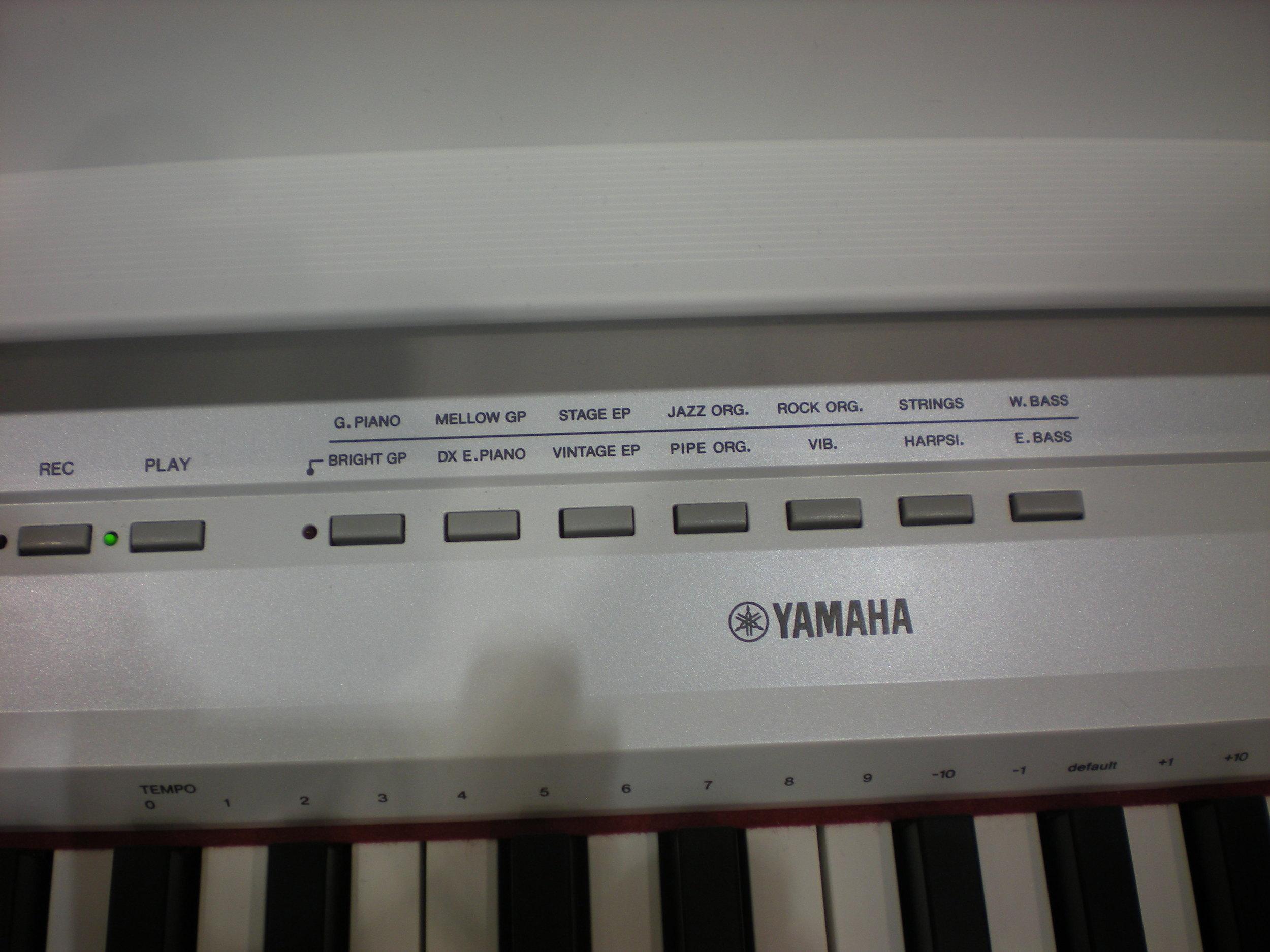 Yamaha P-115 - panel