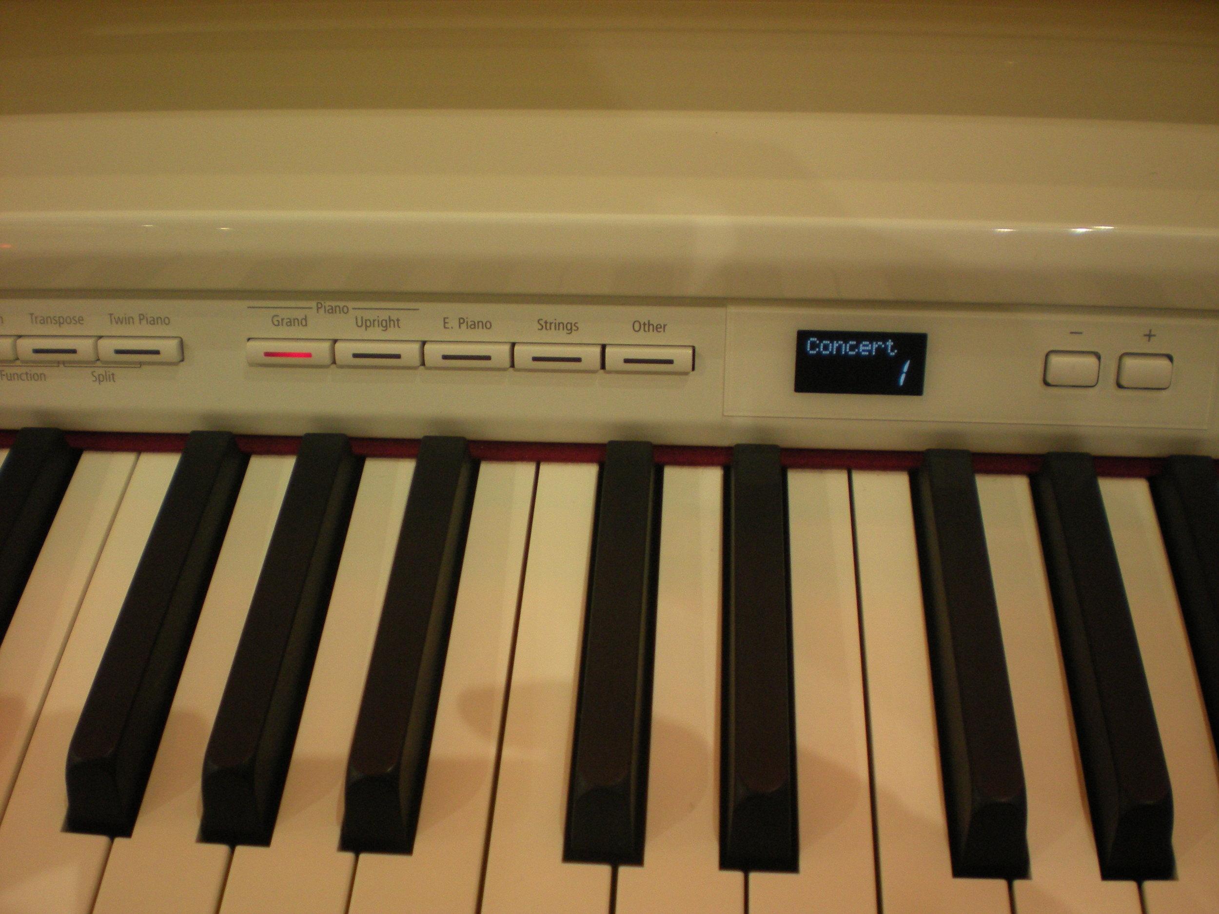 Roland DP90Se - panel