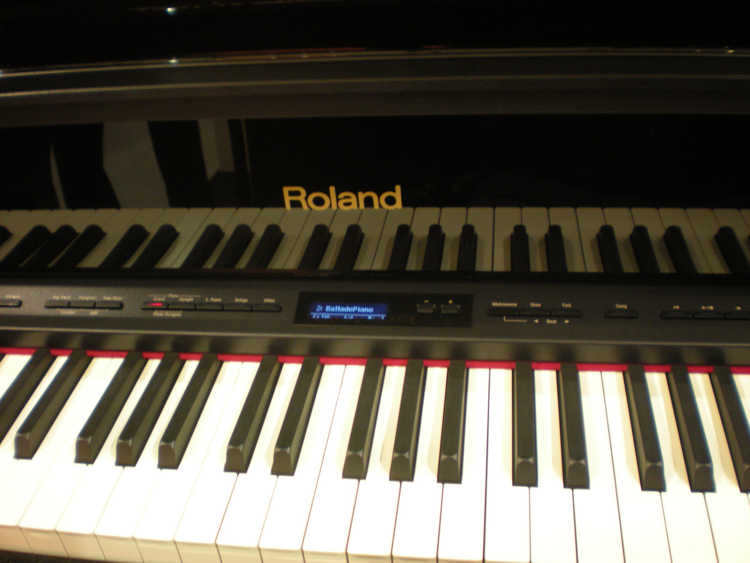 Roland LX-15e - panel