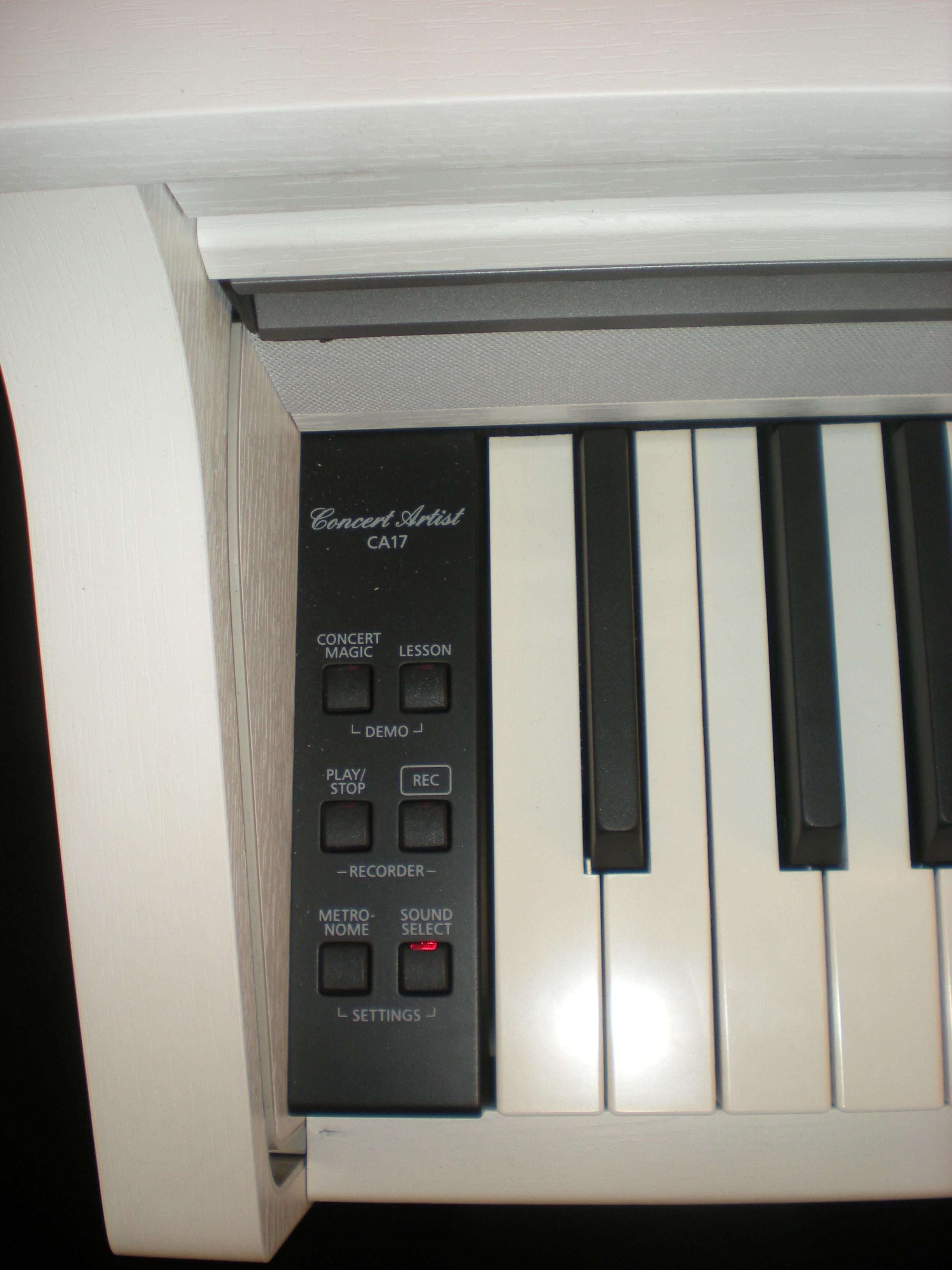 Kawai CA17 - panel