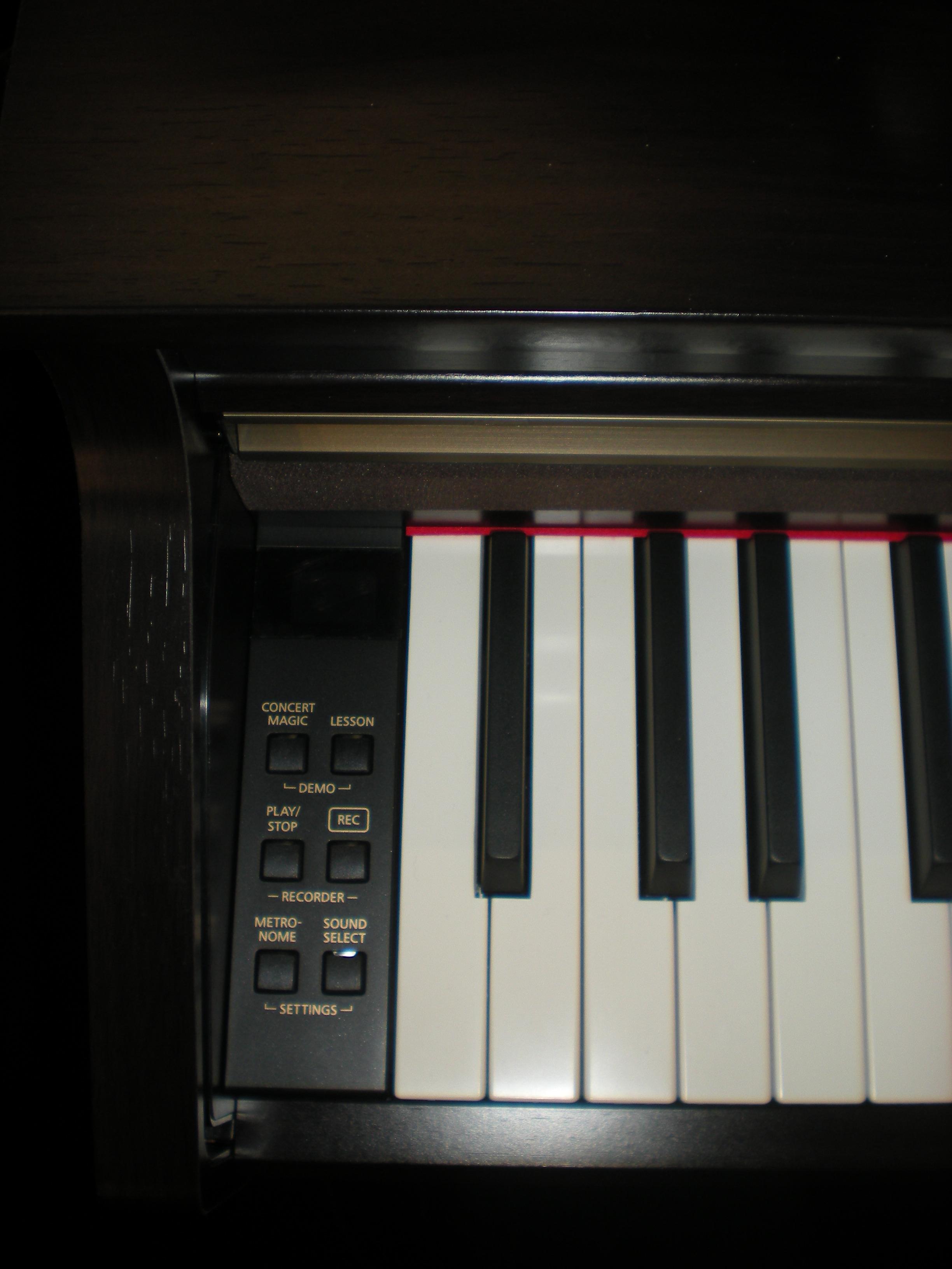 Kawai CA48 - panel