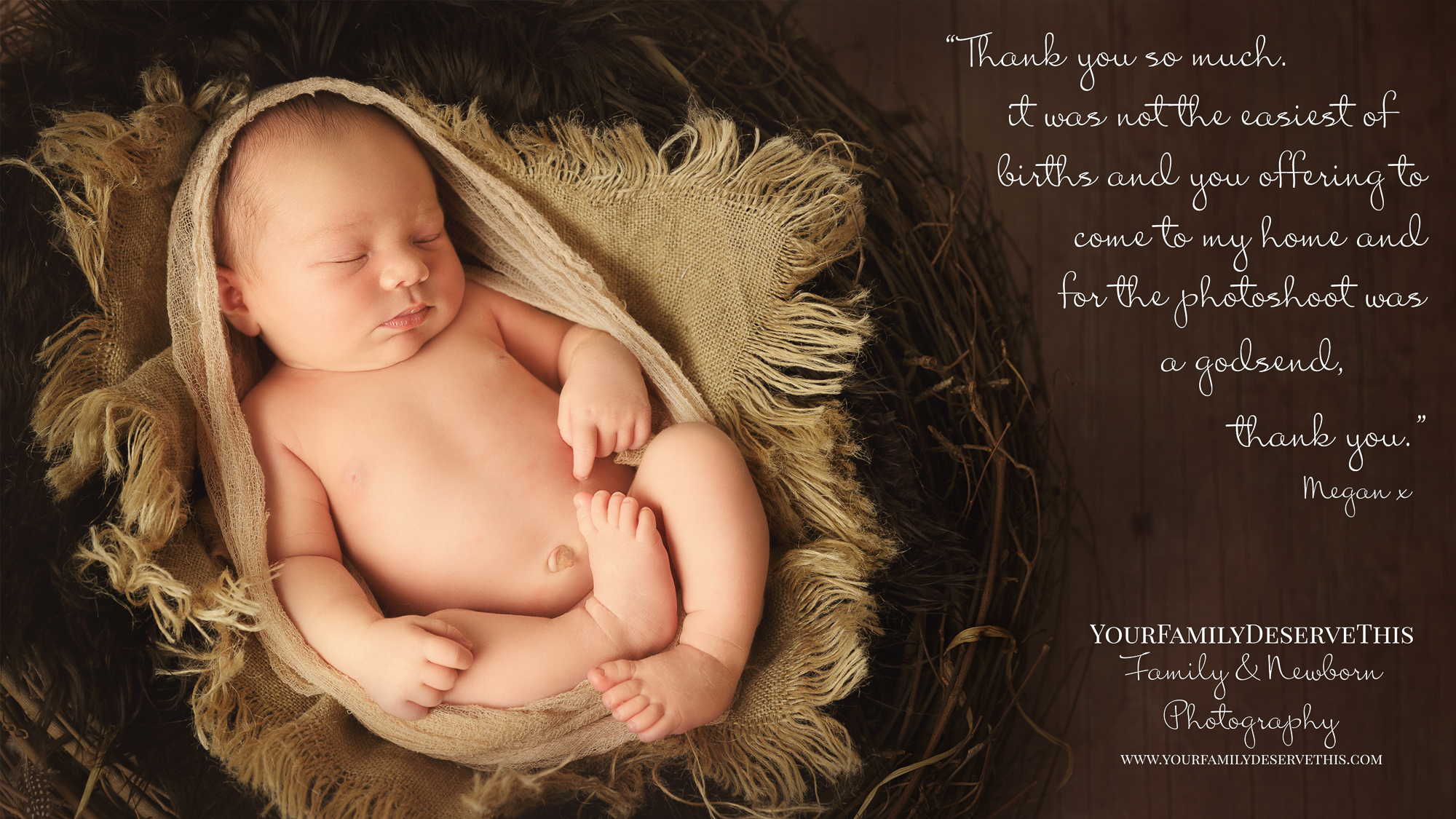 1a newborn baby in a nest - newborn photography studio Hampshire.jpg