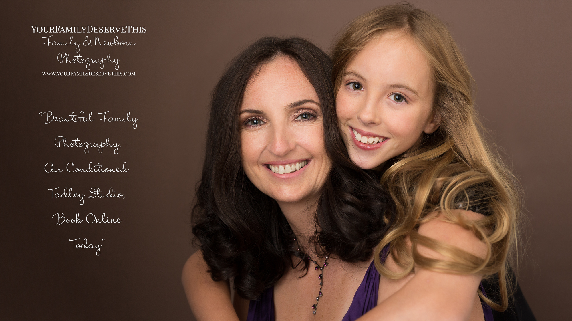You can now Book Online, easy as 1-2-3,  Studio photoshoots  or on location  Outdoor photoshoots .Beautiful family portraits by YourFamilyDeserveThis Photography - our Studio in Tadley Hampshire -  YouDeserveThis Headshots, Makeover and Photography Studio