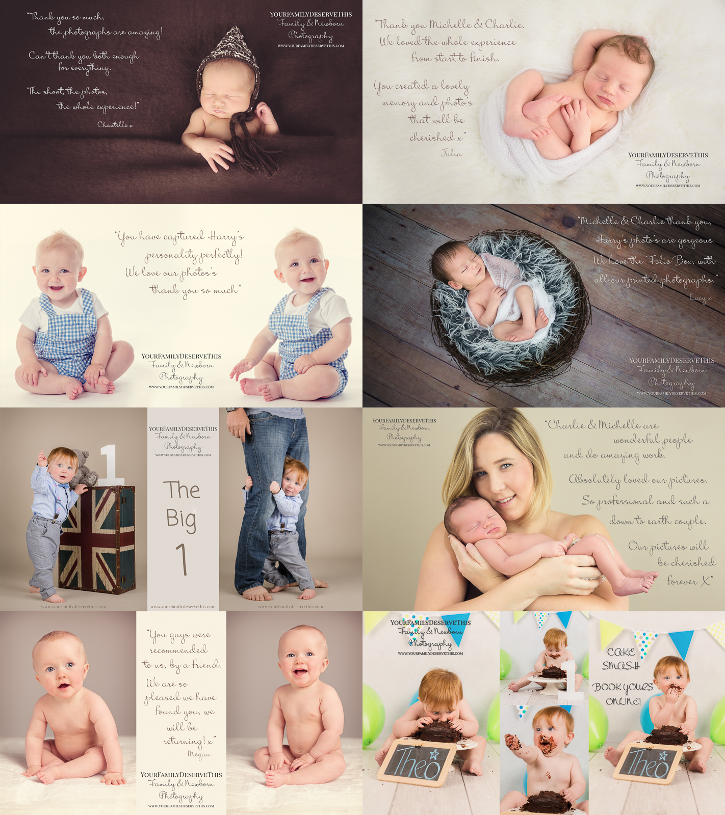 Amazing value our babys first year photoshoot packages include a newborn photoshoot 6 month baby