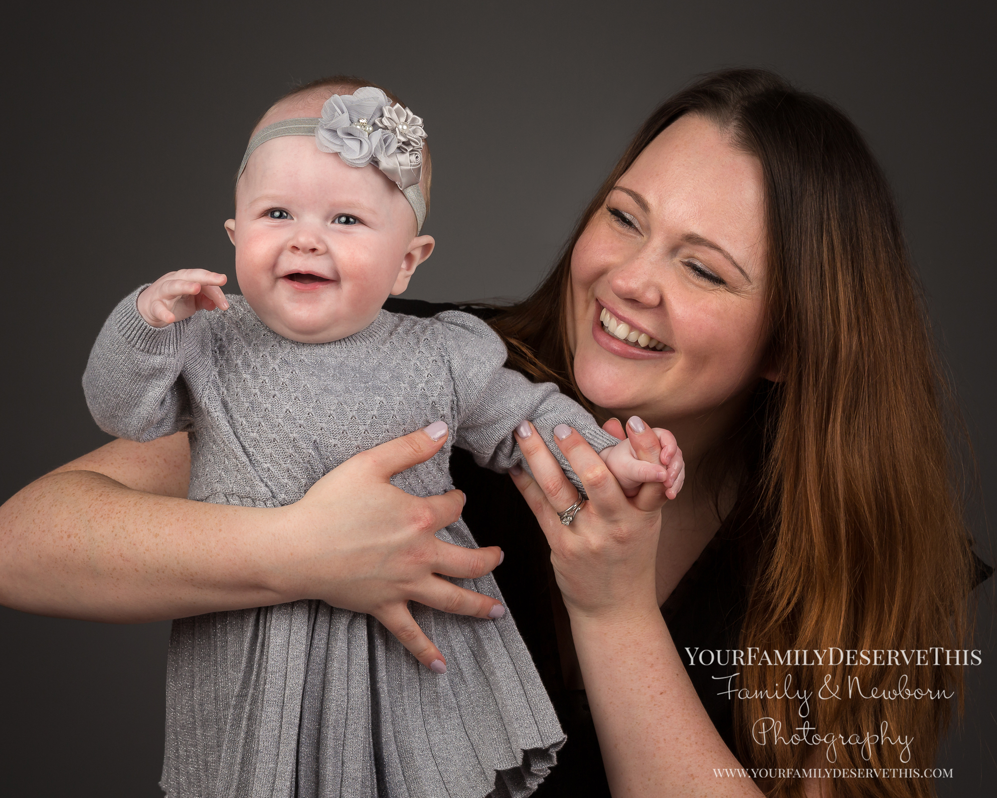 We love capturing moments of fun with you and your little one. So Mum's and Dad's be prepared to be playfully involved!