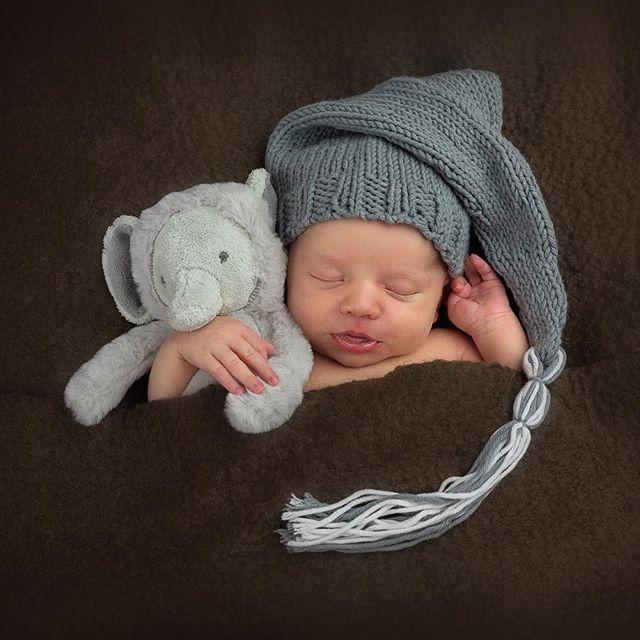 Aww sooo cute newborn baby's favourite cuddly toy...