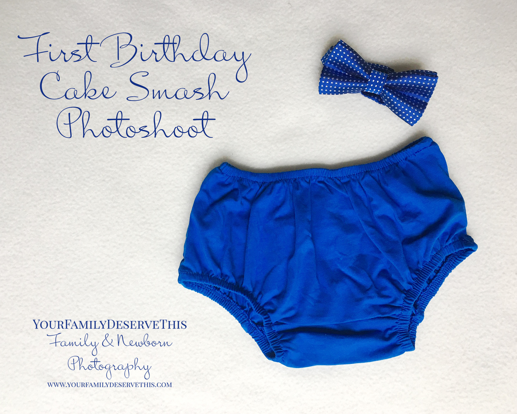 cake smash photo shoot boys blue nappy pants and bow tie copy.jpg