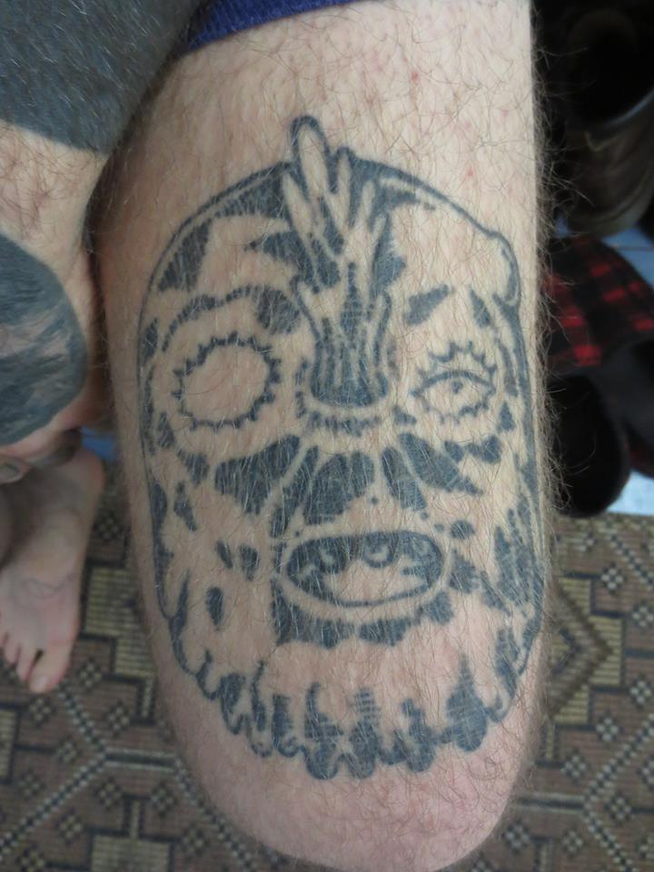 Sisto Rossi - Tattooed by his wife