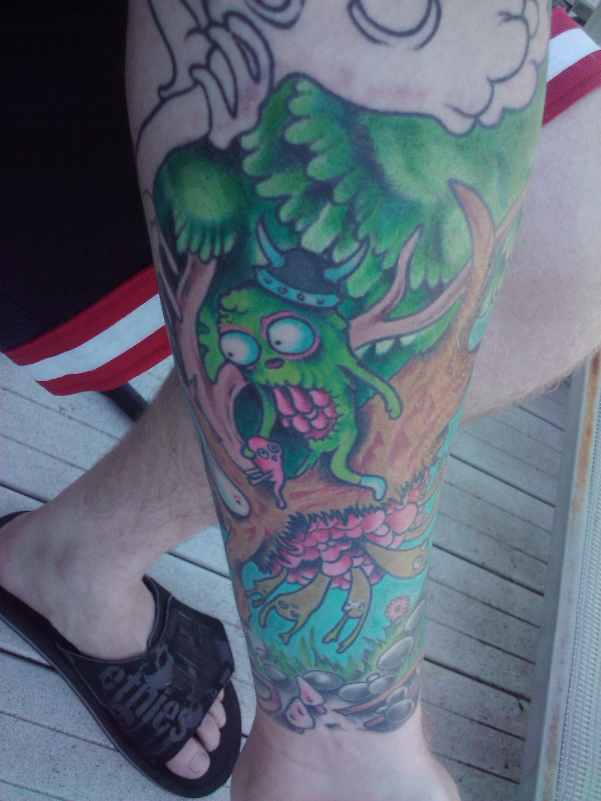 William Wingfield - Tattooed by  Ricky Sturdivant