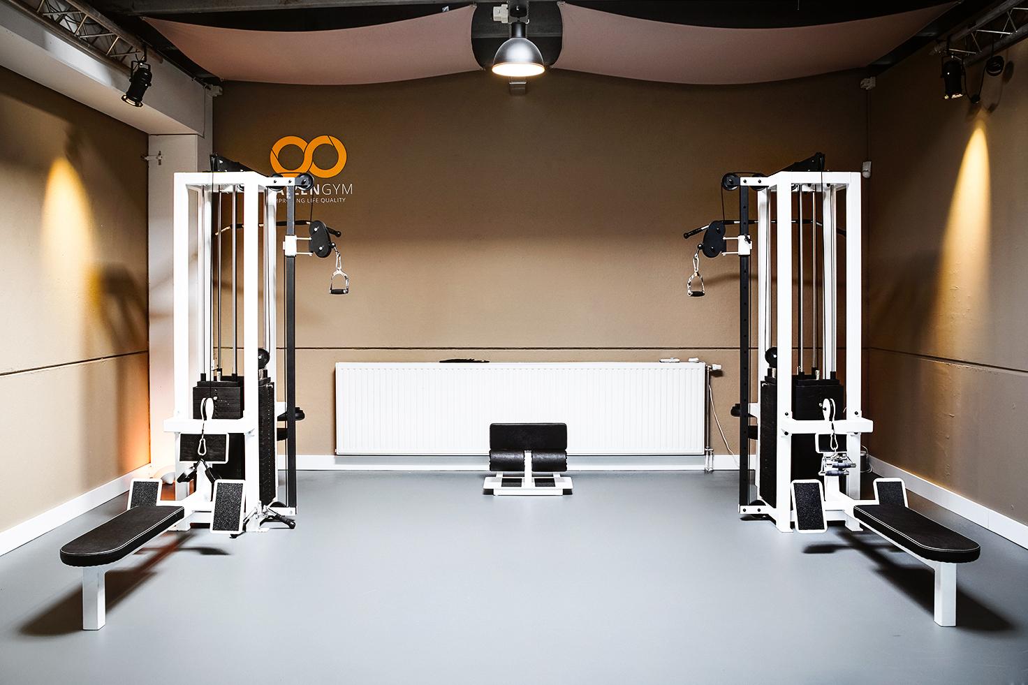 Symmetrie geeft rust tijdens zware trainingen.