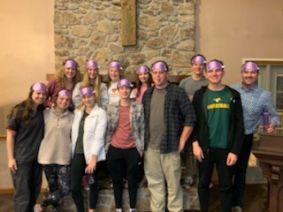 FPC SENIOR HIGH YOUTH RETREAT held at CAMP HOPEWELL January 25, 26, 27