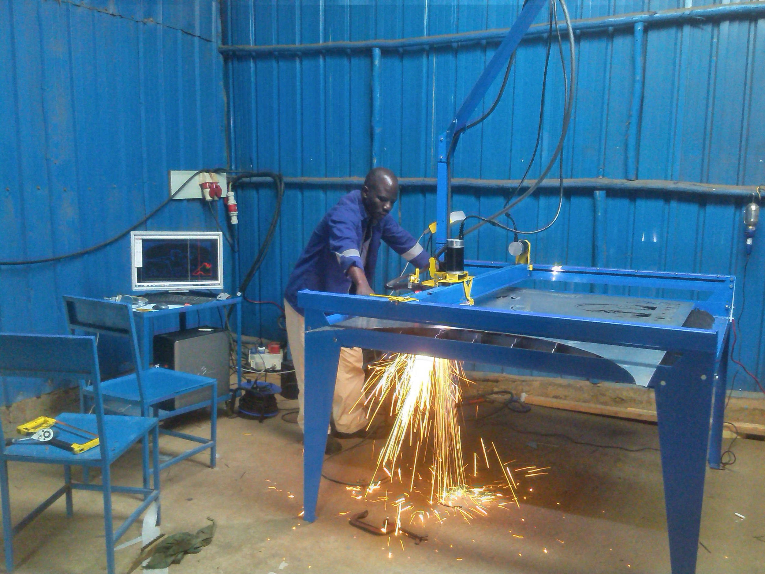 SEB  Engineering  and its new CNC plasma cutting system