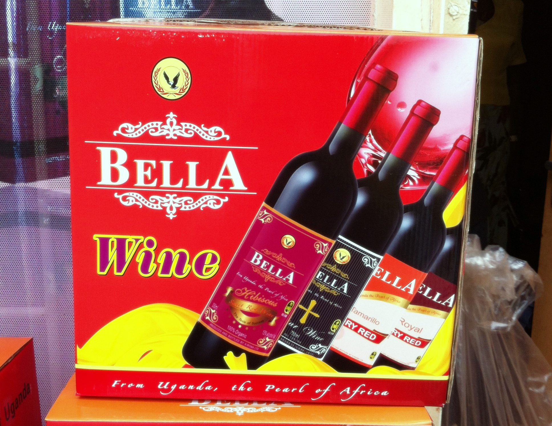 Bella Wine, K-Roma's major brand.