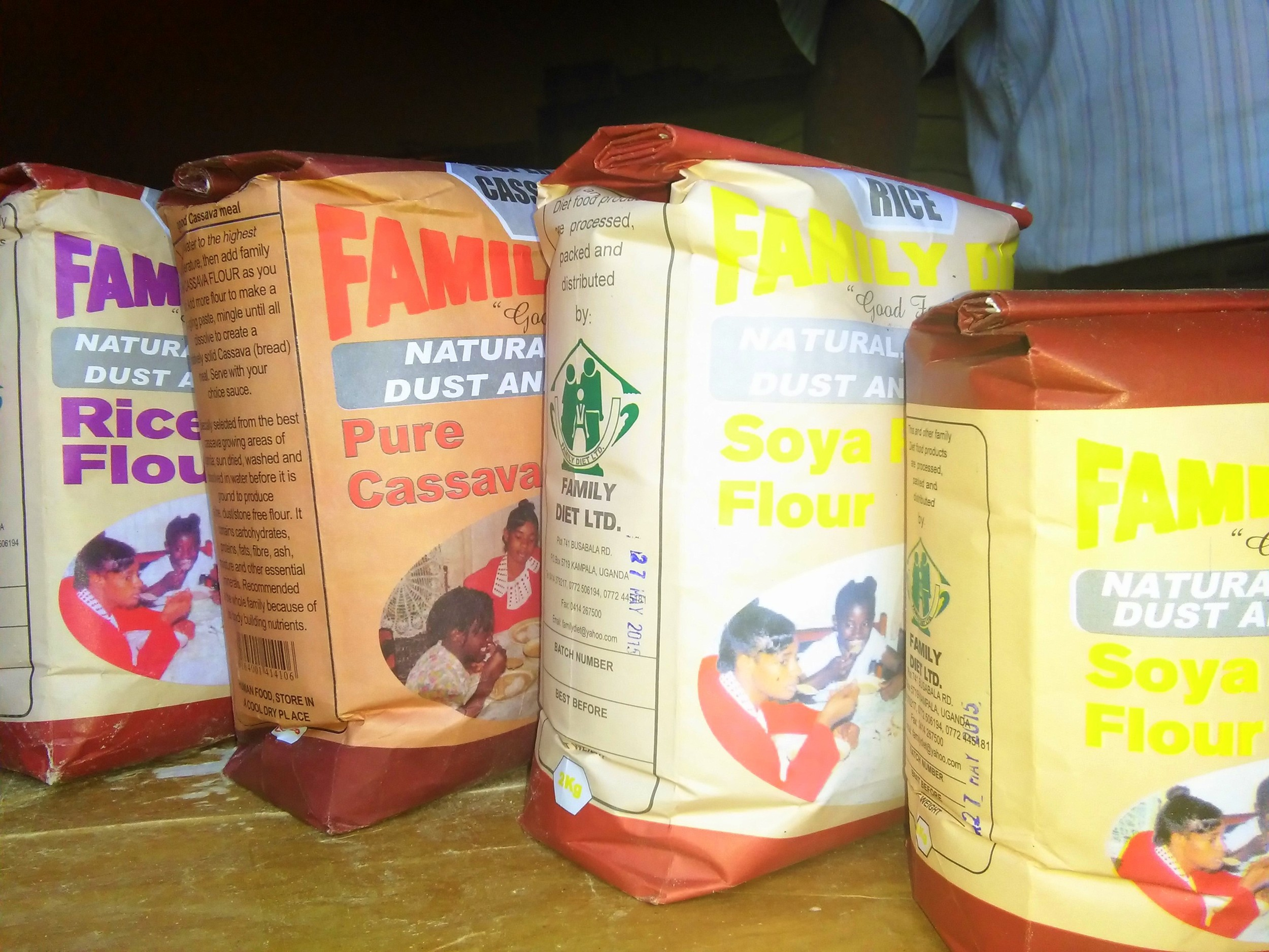 Family Diet's rice and soya-based products.