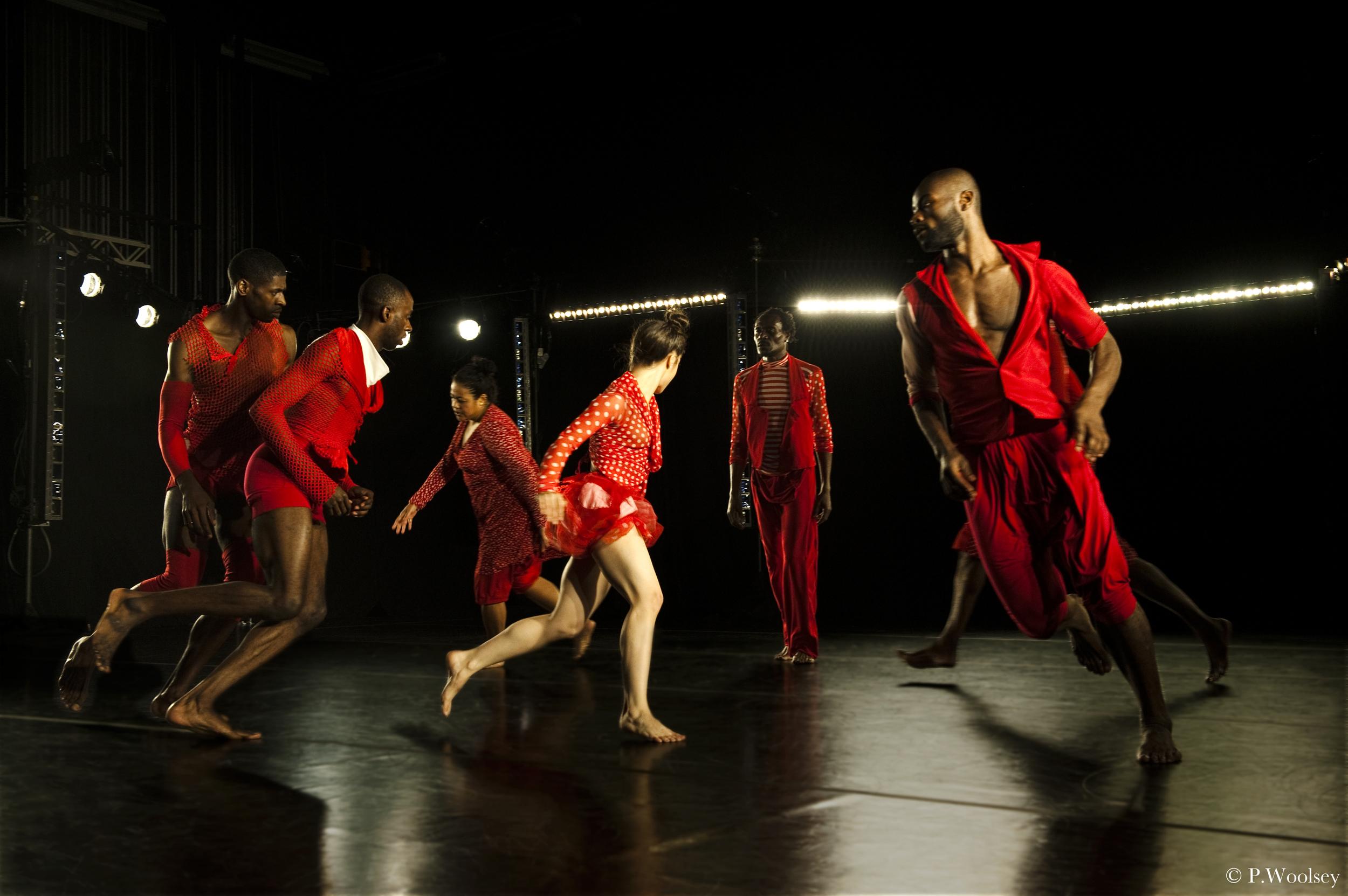 Photo Peggy Woolsey_dancersAnna Schön, Raja Feather Kelly, Dwayne Brown, Rhetta Aleong, Lawrence Harding, Paul Hamilton, Clement Mensah.jpg