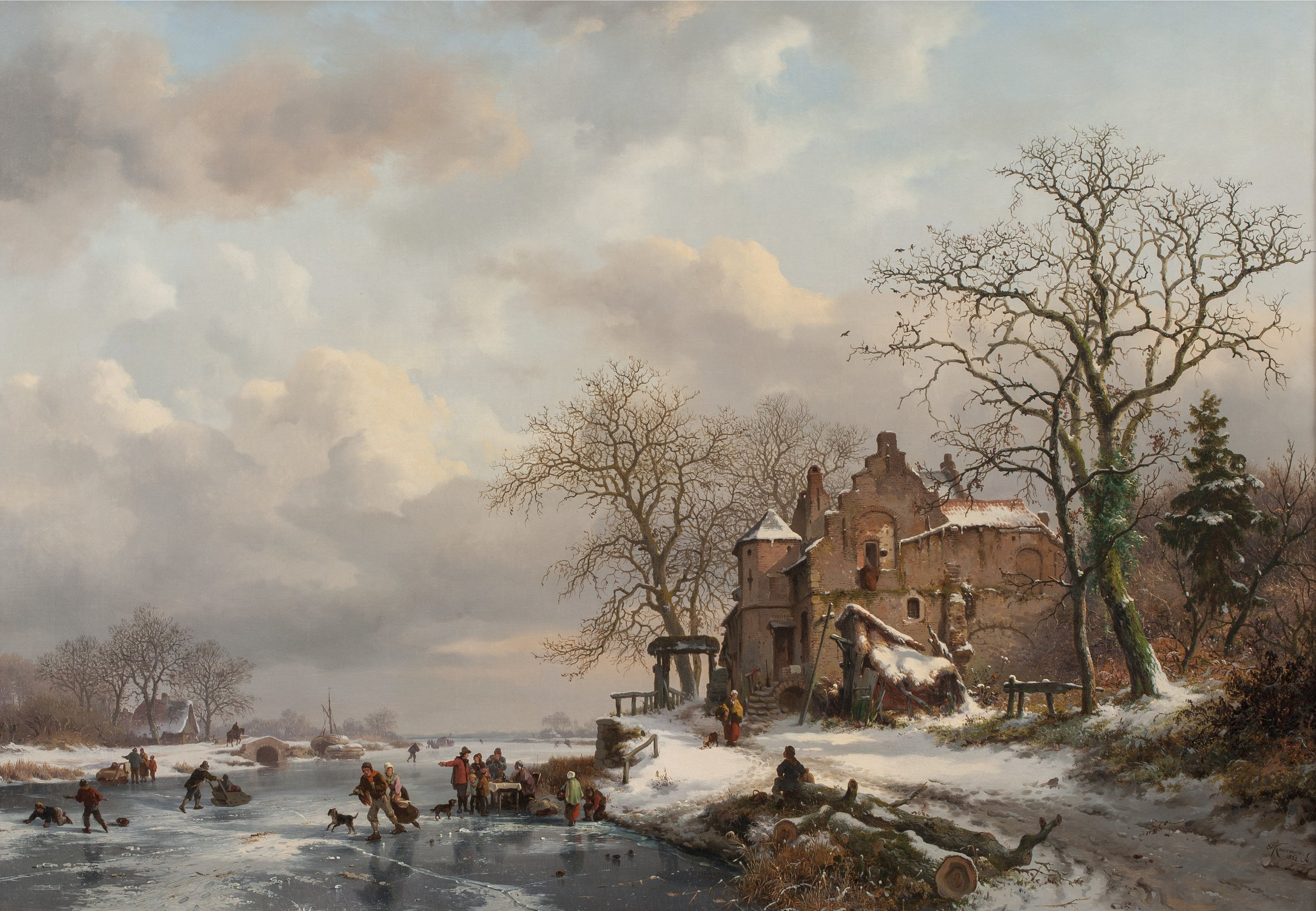Kruseman - Winter Landscape.jpg