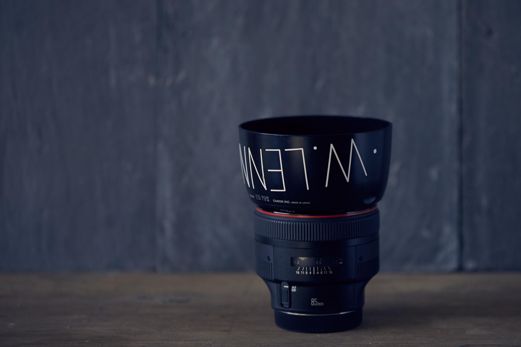 Canon 85 1.2L
