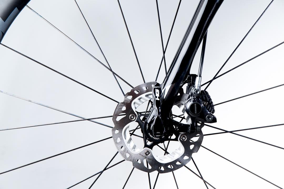 Shimano R785 disc brakes