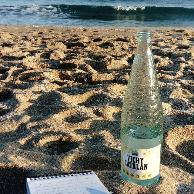 The beach in December: cold, but yours alone.  #barcelona  #writing  #travel