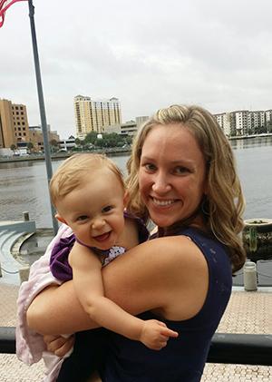 Erica and her Daughter Tayva
