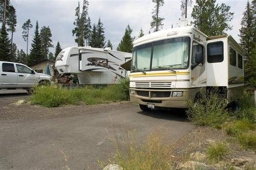 Employee RV Spaces