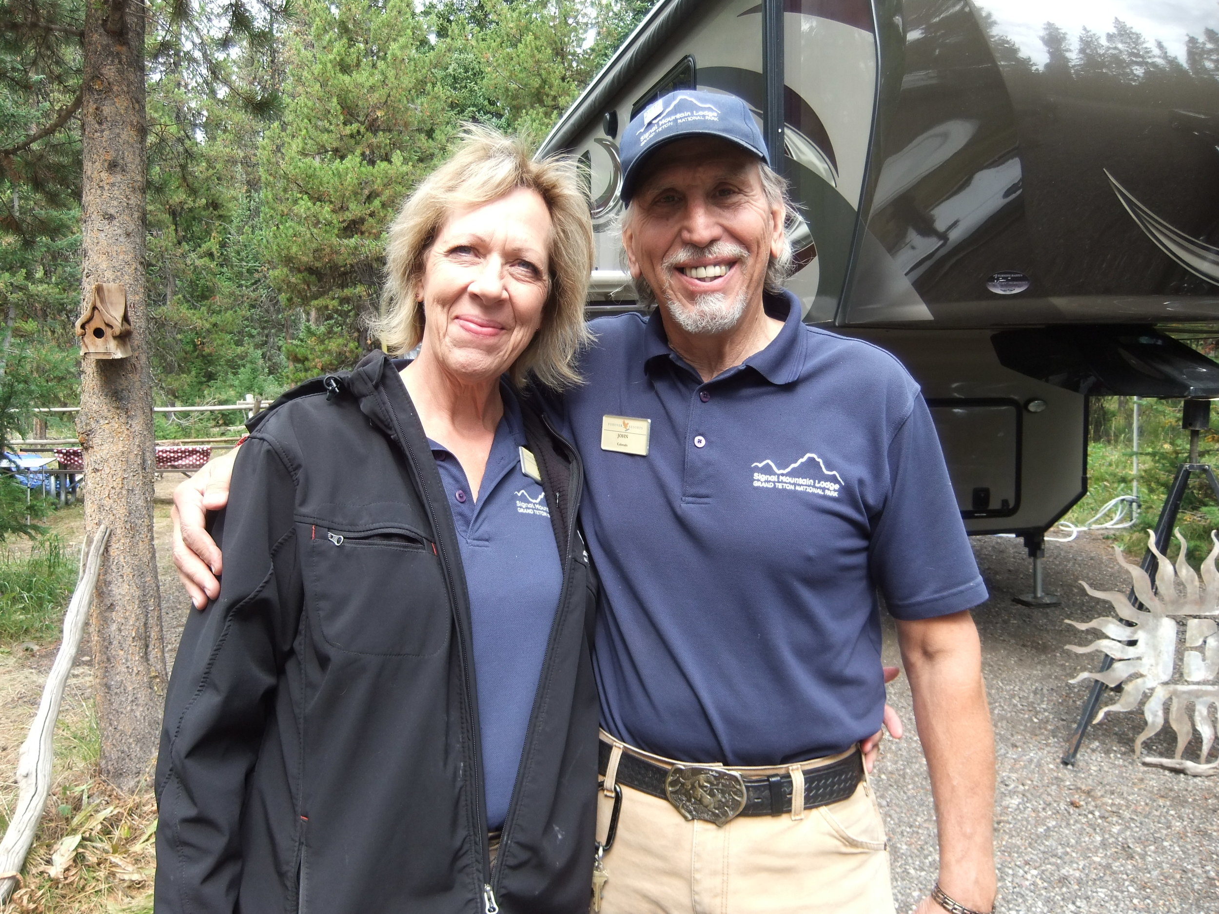 Lizard Creek Campground staff