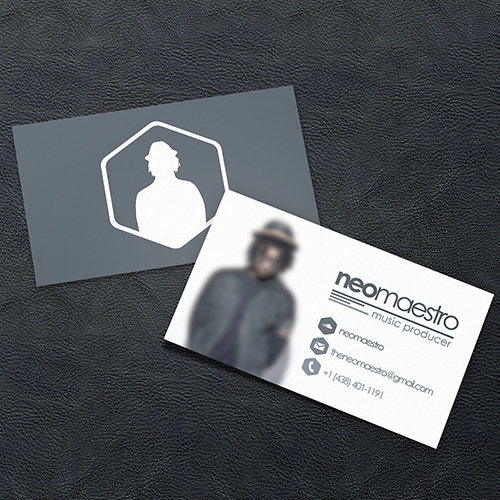 [Business Card & Logotype] NeoMaestro (2014)