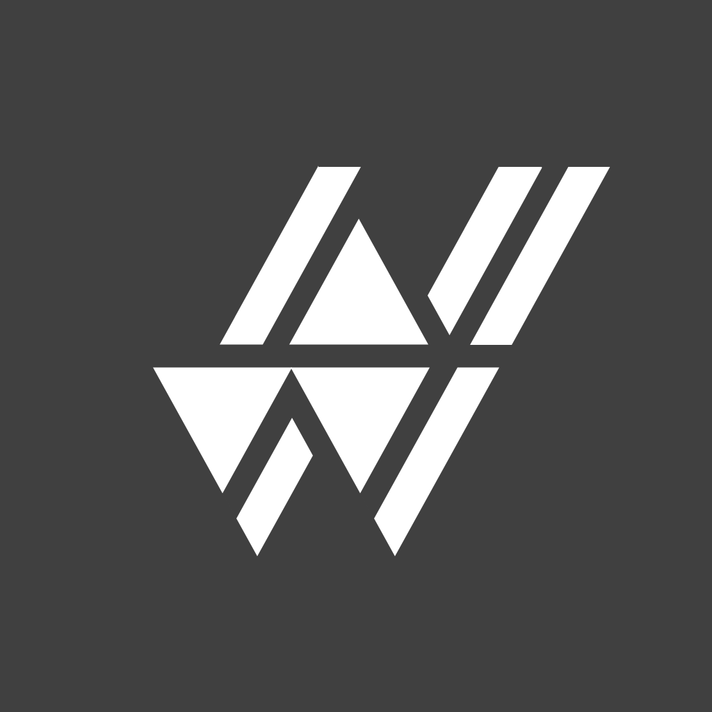 Neowide Logo White on Black.png