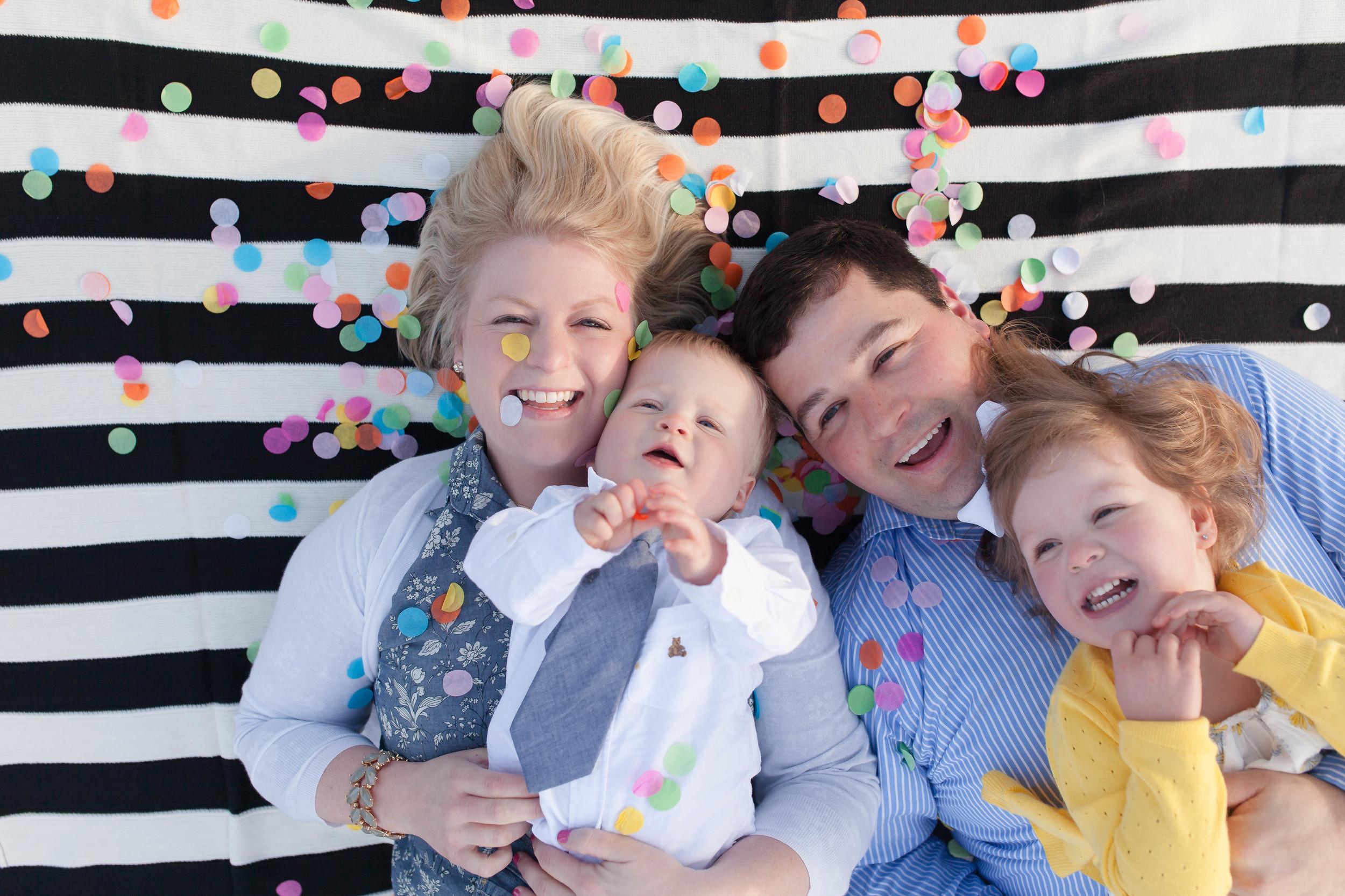 Family Portraits Confetti