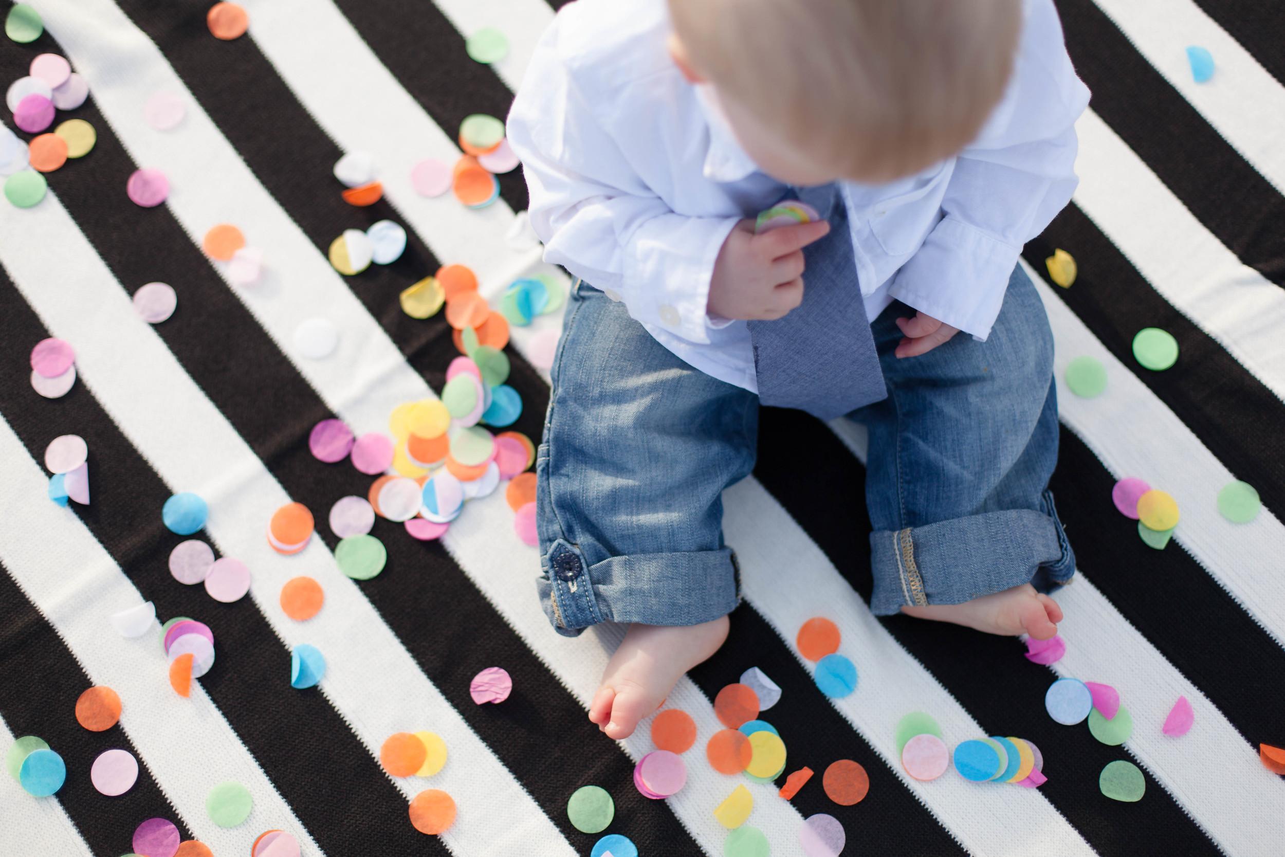 Baby Photo Confetti